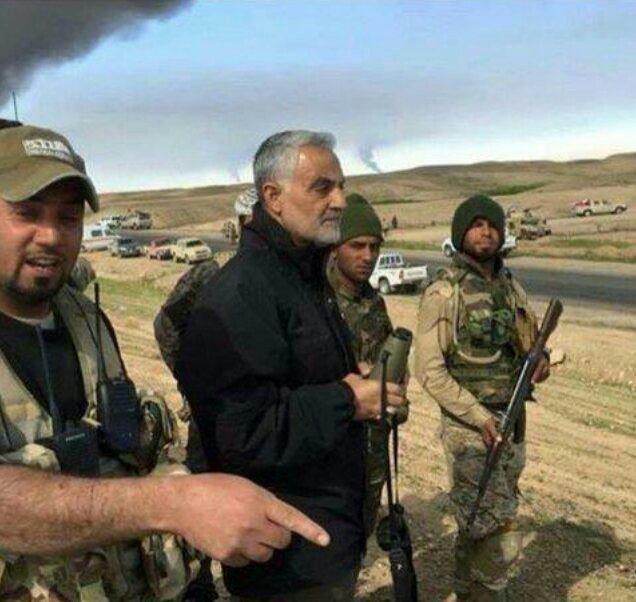 محبوبیت سپهبد سلیمانی با شکست داعش در عراق و سوریه