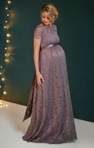 مدل لباس مجلسی حاملگی